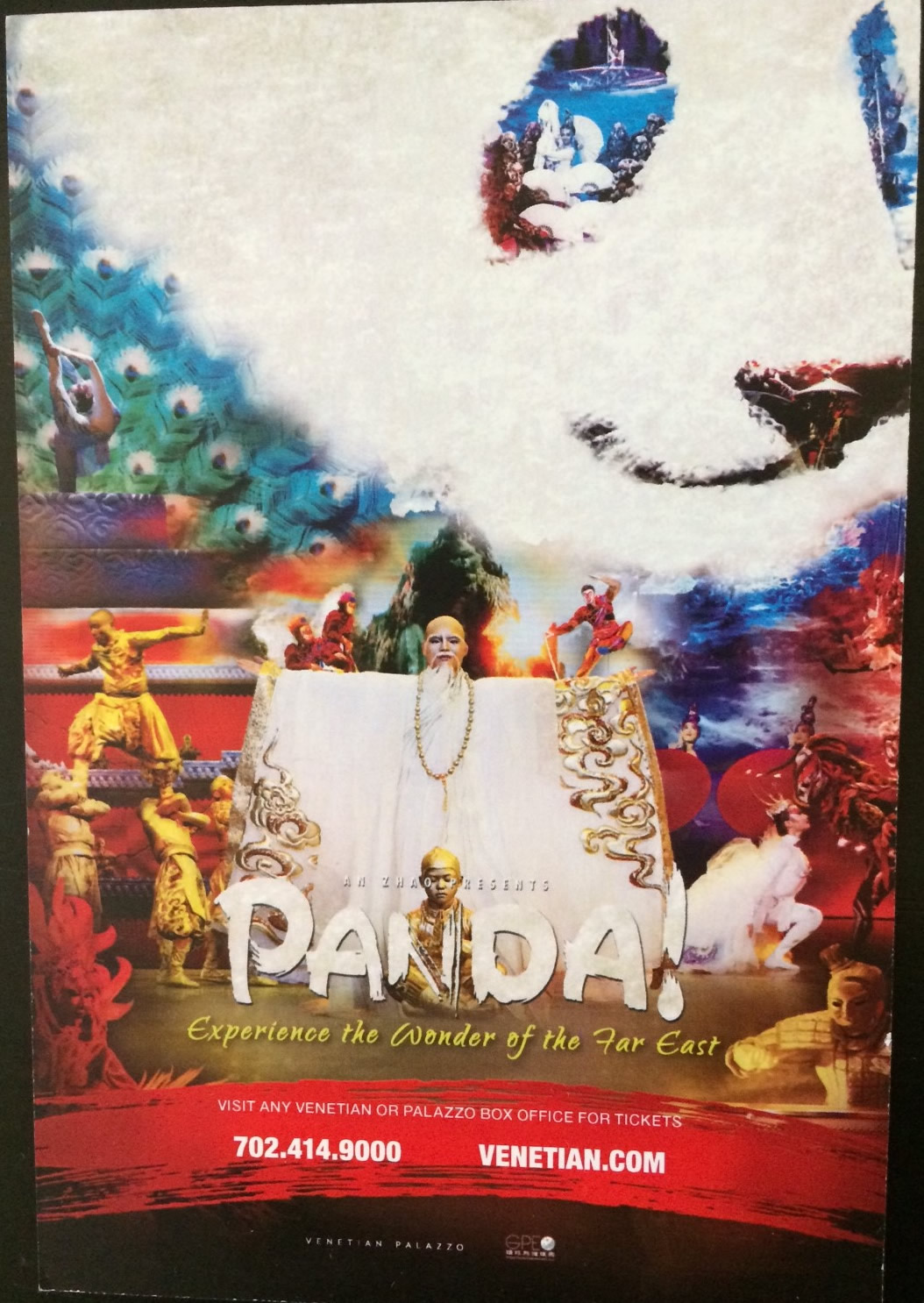 Performing In Las Vegas Panda Takes Aunces On A Visually Stunning Epic Journey At The Palazzo